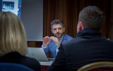 ZTM Christian Petri bei seinem Workshop