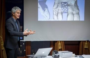 Dr. Peter Randelzhofer bei seinem Workshop
